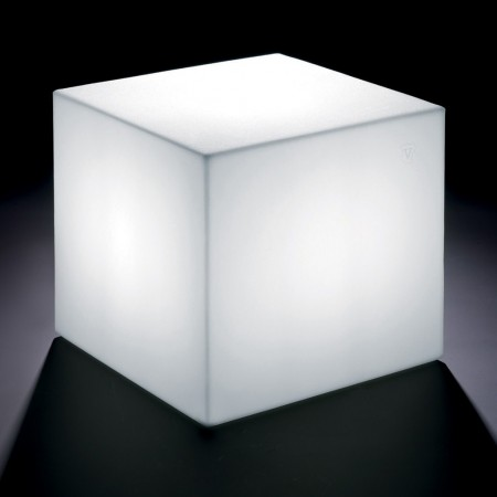 POUF HOME FITTING CUBE with light, LYXO