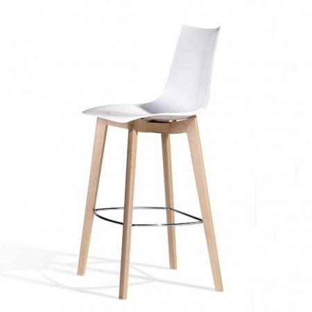 NATURAL ZEBRA ANTISHOCK stool, Scab Design