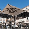 Maxi ombrellone OLIMPO, Crema Outdoor