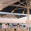 Maxi umbrella ADONE PLUS, Crema Outdoor