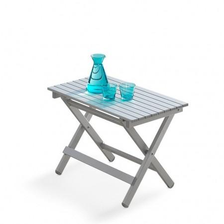 Tavolino pieghevole PERSEO, Crema Outdoor