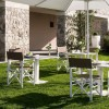 Sedia regista FEDRA, Crema Outdoor