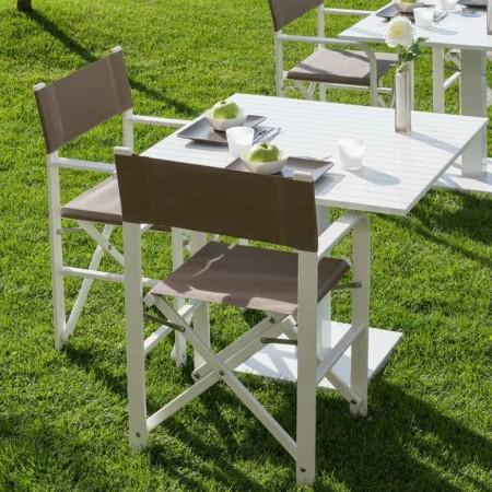 FEDRA folding chair, Ombrellificio Crema