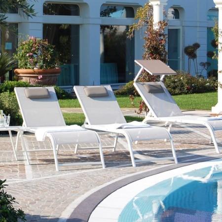 ULISSE DESIGN sun bed, Crema Outdoor