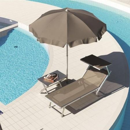 CARIDDI sun umbrella, Ombrellificio Crema