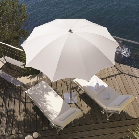 Ombrellone NARCISO, Crema Outdoor