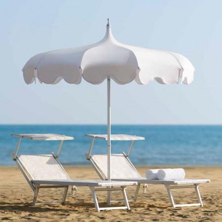 PAGODA umbrella, Crema Outdoor