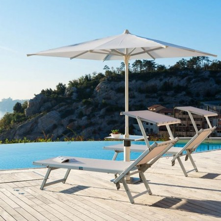 CRONO umbrella, Crema Outdoor
