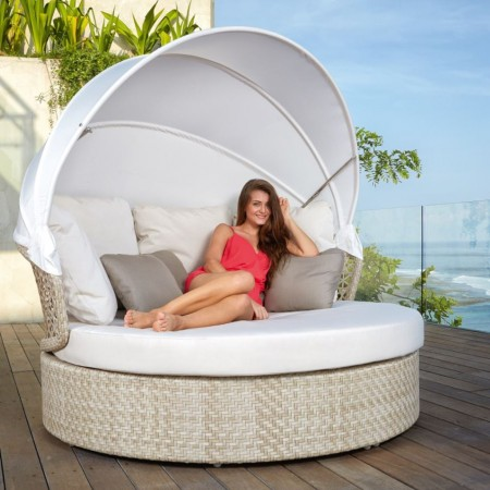 Daybed con capottina, Journey collection, Skyline Design