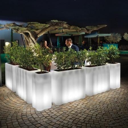 NEBULA FLOWER-BOX WITH LIGHT, LYXO