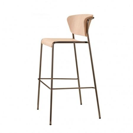 Sgabello LISA WOOD, Scab Design
