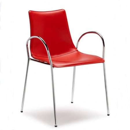 ZEBRA POP chair with armrests, Scab Design