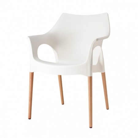 NATURAL OLA armchair, Scab Design