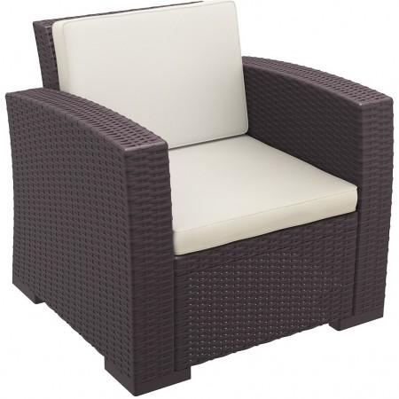 Backrest cushion for MONACO LOUNGE line, Siesta Exclusive