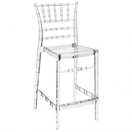 CHIAVARI BAR stool h.65, Siesta Exclusive