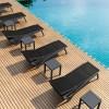 Tavolino basso quadrato OCEAN, Siesta Exclusive