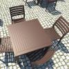 Tavolo quadrato ARES 80, Siesta Exclusive