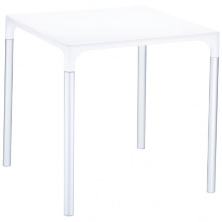 MANGO ALU square table, Siesta Exclusive