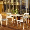 FORZA tilting square table, Siesta Exclusive