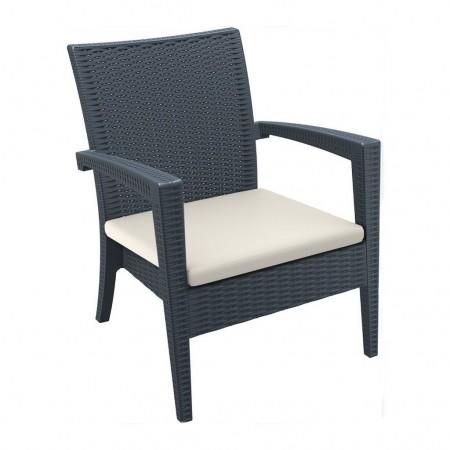 MIAMI LOUNGE armchair cushion, Siesta Exclusive