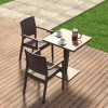 RIVA square table, Siesta Exclusive