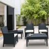 MIAMI rectangular side table, Siesta Exclusive