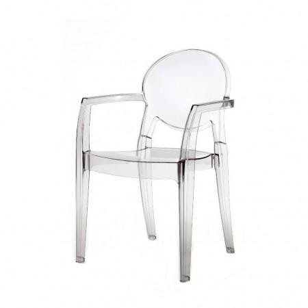 Sedia IGLOO con braccioli, Scab Design