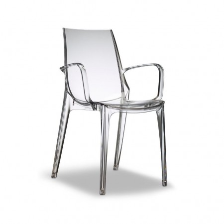 VANITY chair with armrests, Scab Design