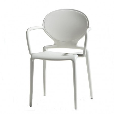 GIO chair with armrests, Scab Design