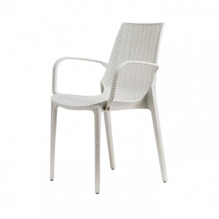 LUCREZIA chair with armrests, Scab Design