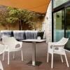 Basamento tavolo TIFFANY, base quadrata e colonna 80x80mm, Scab Design
