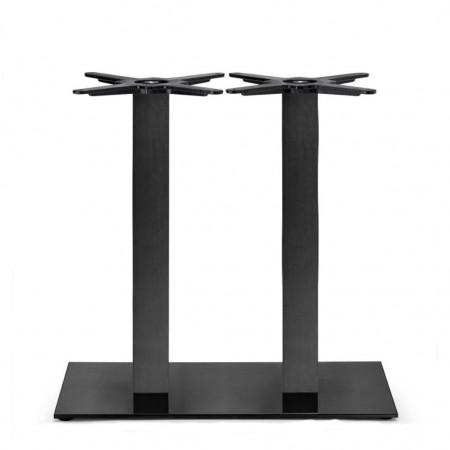 Basamento tavolo TIFFANY a doppia colonna quadrata, Scab Design
