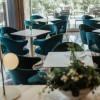 Basamento tavolo TIFFANY, base e colonna tonda, Scab Design