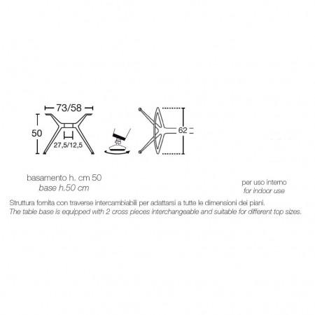 METROPOLIS table base, Scab Design