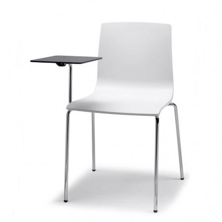 Sedia ALICE con tavoletta scrittoio antipanico, Scab Design
