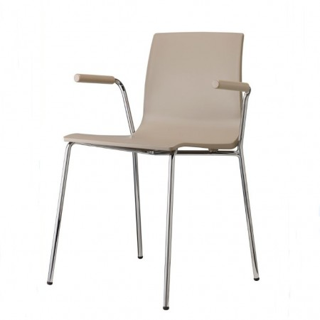 ALICE chair with open armrests, Scab Design