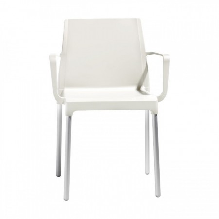 CHLOE' MON AMOUR chair with armrests, Scab Design