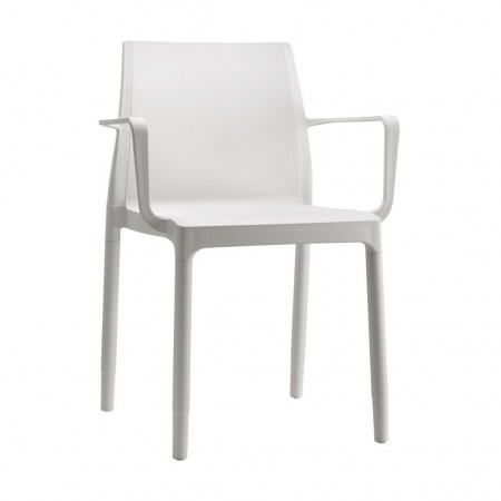 CHLOE' TREND MON AMOUR chair with armrests, Scab Design