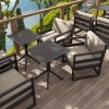 Backrest cushion for MYKONOS LOUNGE line, Siesta Exclusive