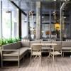 Corner cushion for MYKONOS LOUNGE CORNER, Siesta Exclusive