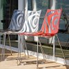 WAVE chair with sledge frame, Scab Design