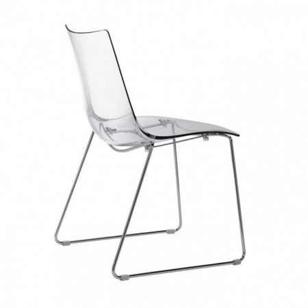 ZEBRA ANTISHOCK chair with sledge frame, Scab Design
