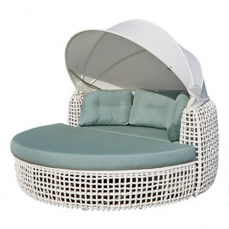 Dynasty collection daybed with canopy, Skyline Design