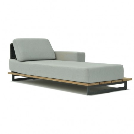 Right chaiselongue Ona collection, Skyline Design