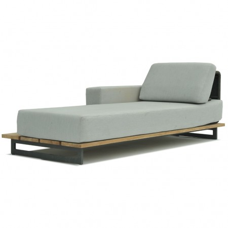 Chaiselongue sinistra Ona collection, Skyline Design