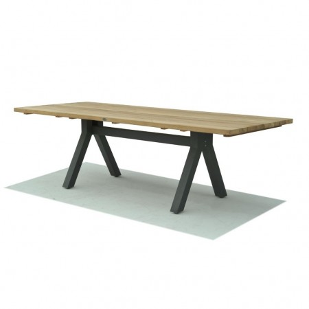Tavolo rettangolare Alaska 250, Skyline Design