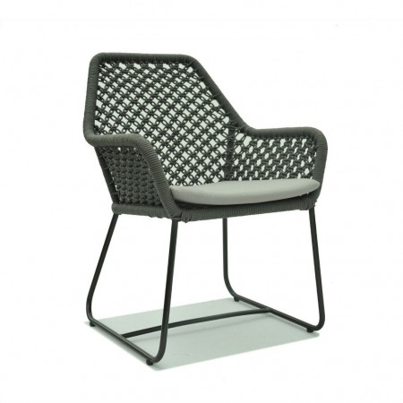 Chair with armrests Moma collection, Skyline Design