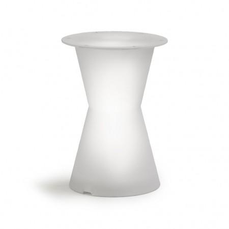 DOT table leg with light, LYXO