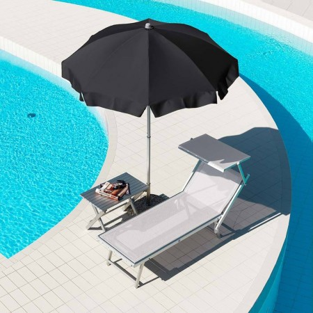 CARIDDI umbrella, Crema Outdoor