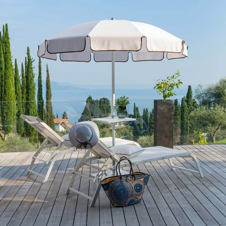 POSEIDON umbrella, Crema Outdoor